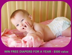 Win free baby diapers