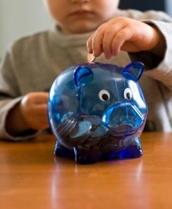 children managing money