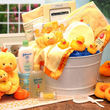 Baby Bath Time Gift Pail - FREE SHIPPING